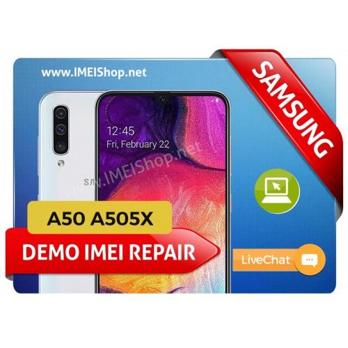 A50 A505X DEMO IMEI REPAIR FIX (A505X DEMO BAD IMEI 000000000000000 IMEI REPAIR FIX AND WRITE NEW CLEAN IMEI)