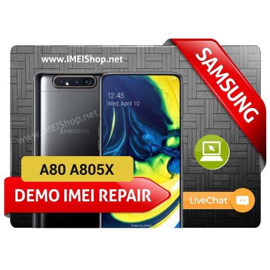 A80 A805X DEMO IMEI REPAIR FIX (A805X DEMO BAD IMEI 000000000000000 IMEI REPAIR FIX AND WRITE NEW CLEAN IMEI)