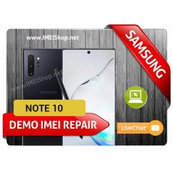 NOTE 10 DEMO IMEI REPAIR FIX (NOTE 10  DEMO BAD IMEI 000000000000000 IMEI REPAIR FIX AND WRITE NEW CLEAN IMEI)