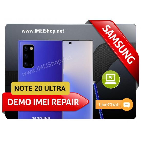 NOTE 20 ULTRA DEMO IMEI REPAIR FIX (BAD IMEI NOTE 20 ULTRA DEMO 000000000000000 IMEI REPAIR FIX AND WRITE NEW CLEAN IMEI)