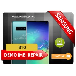 S10 DEMO IMEI REPAIR FIX (BAD IMEI S10 DEMO 000000000000000 IMEI REPAIR FIX AND WRITE NEW CLEAN IMEI)