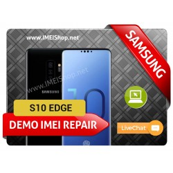 S10 EDGE DEMO IMEI REPAIR FIX (BAD IMEI S10 EDGE DEMO 000000000000000 IMEI REPAIR FIX AND WRITE NEW CLEAN IMEI)