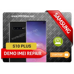 S10 PLUS DEMO IMEI REPAIR FIX (BAD IMEI S10 PLUS DEMO 000000000000000 IMEI REPAIR FIX AND WRITE NEW CLEAN IMEI)