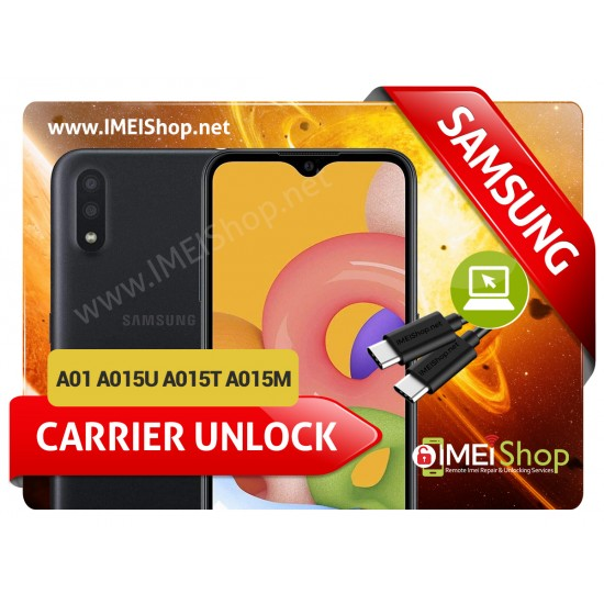 A01 A015U A015T A015M SAMSUNG INSTANT REMOTE CARRIER UNLOCK