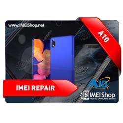 A10 A102 A105 REMOTE IMEI REPAIR