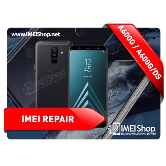 A6 (2018) A600 REMOTE IMEI REPAIR
