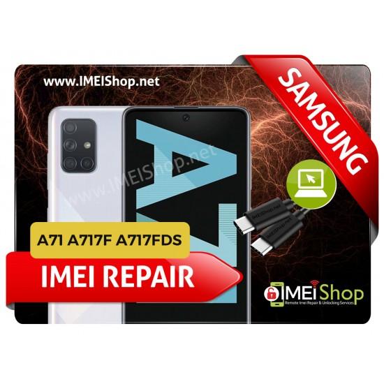 A71 A717 REMOTE IMEI REPAIR