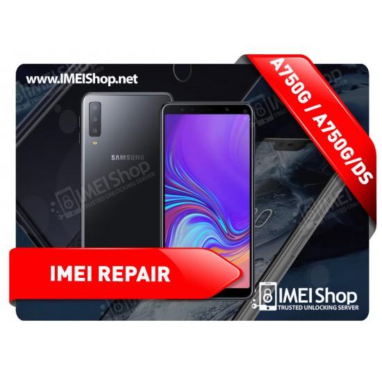 A7 (2018) A750 REMOTE IMEI REPAIR