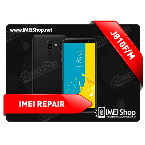 J8 J810 REMOTE IMEI REPAIR