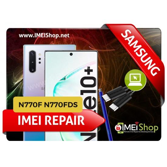 NOTE 10 LITE N770 REMOTE IMEI REPAIR