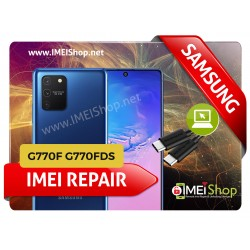 S10 LITE G770 REMOTE IMEI REPAIR