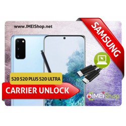 S20 , S20 PLUS , S20 ULTRA SAMSUNG REMOTE USB CARRIER UNLOCK