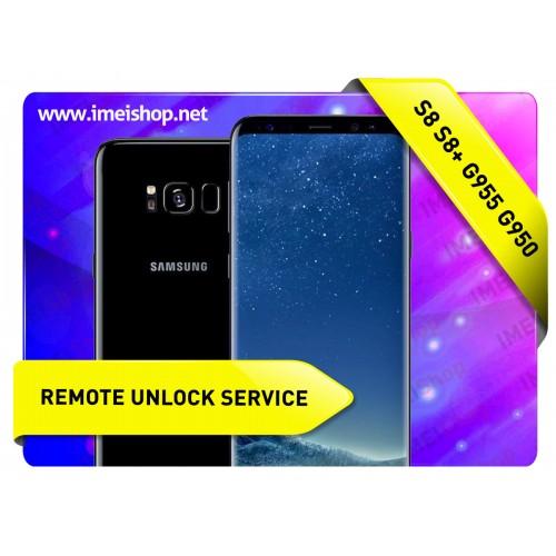 S8 S8 PLUS SAMSUNG REMOTE USB CARRIER UNLOCK
