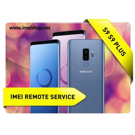 S9 , S9 PLUS REMOTE IMEI REPAIR