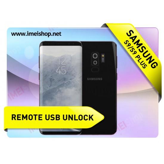 S9  S9 PLUS SAMSUNG REMOTE USB CARRIER UNLOCK